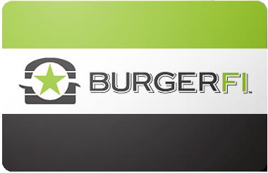 Burger Fi gift card