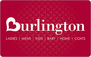 Burlington Coat Factory In Store Only gift card