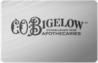 C.O. Bigelow gift card