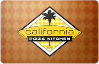 California Pizza gift card