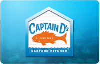 Captain D's Restaurant gift card