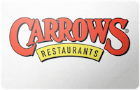 Carrows gift card