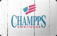 Champps Americana gift card