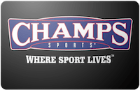 Champs Sports gift card