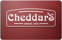 Cheddars gift card