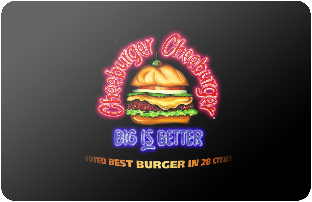 Cheeburger Cheeburger gift card