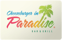 Cheeseburger in Paradise gift card