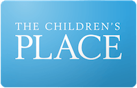 Childrens Place gift card