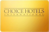 Choice Hotels International gift card