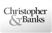 Christopher & Banks gift card