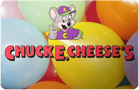 Chuck E. Cheeses gift card