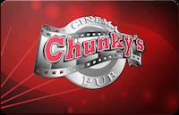 Chunky's gift card