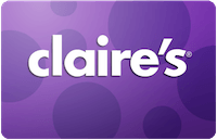 Claire's gift card