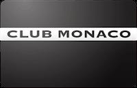 Club Monaco gift card