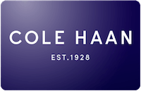 Cole Haan gift card