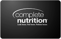 Complete Nutrition gift card