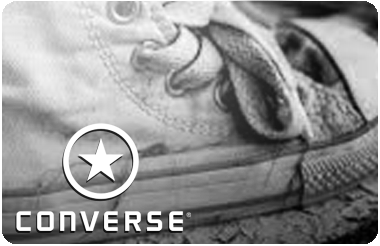 Converse gift card