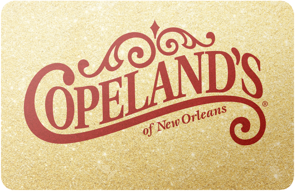 Copelands Of New Orleans gift card