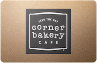 Corner Bakery Cafe gift card