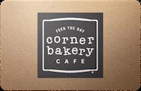 Corner Bakery Cafe gift card