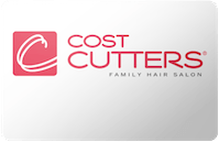 Cost Cutters gift card