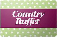 Country Buffet gift card
