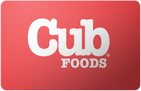 Cub Foods gift card
