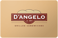 D'Angelo gift card