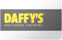 Daffys gift card