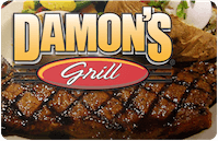 Damon's Grill gift card