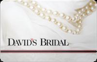 David's Bridal gift card