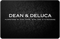 Dean Deluca gift card