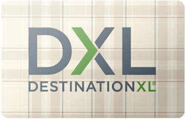 Destination XL gift card