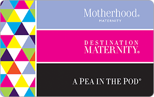 Destination Maternity gift card