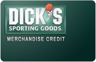 Dick's Merchandise Credit gift card