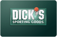 Dick's Sporting Goods (Not Merchandise Credit) gift card