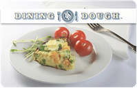 Dining Dough gift card