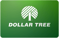 Dollar Tree gift card