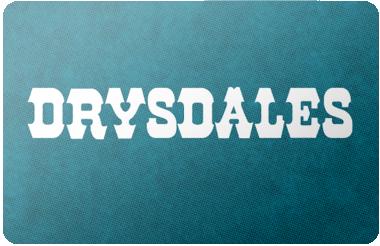Drysdales Western Wear gift card