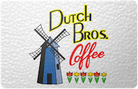 Dutch Bros gift card