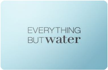 Everything but Water gift card