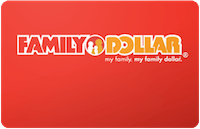Family Dollar gift card