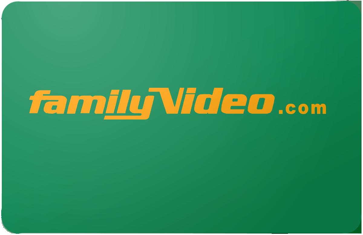 FamilyVideo.com gift card