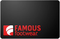 Famous Footwear gift card