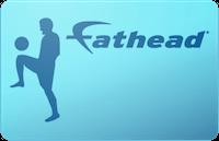 Fathead gift card