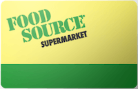 Food Source gift card