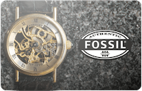 Fossil gift card