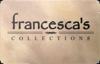 Francescas gift card