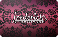 Fredericks gift card