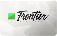 Frontier Airlines gift card